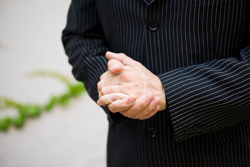 Argentina, Buenos Aires, Tango dancer, hands, closeup