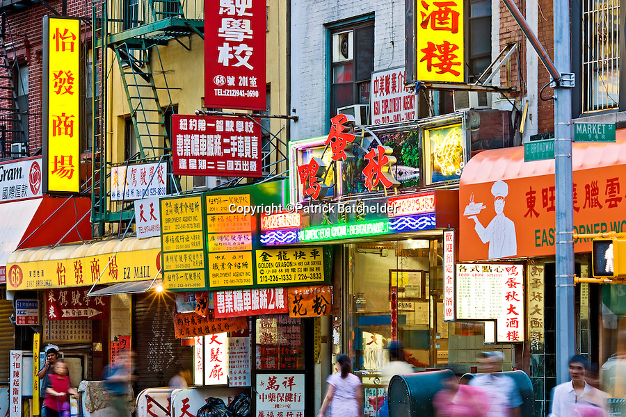 chinatown new york city photography of new york city by patrick batchelder. Black Bedroom Furniture Sets. Home Design Ideas