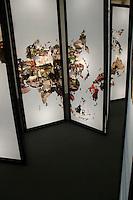 Katie Maish, It's a Small World, Digital Print on Backlit Film