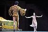 Romeo &amp; Juliet<br /> The Royal Ballet<br /> at the O2 Arena, Greenwich, London, Great Britain<br /> rehearsal<br /> 16th June 2011<br /> Choreography by Kenneth MacMillan<br /> Lauren Cuthbertson (as Juliet)<br /> Valeri Hristov (as Paris)<br /> Photograph by Elliott Franks