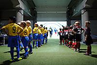 DFB Pokal 2011/12 2. Hauptrunde RasenBallsport Leipzig - FC Augsburg Einlaufkinder.