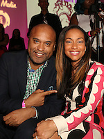 NEW YORK, NY - NOVEMBER 16: Londell McMillan and Valeisha Butterfield at the Sixth Annual WEEN Awards at ESPACE on November 16, 2016. Credit: Walik Goshorn/MediaPunch