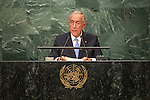 Portugal<br /> H.E. Mr. Marcelo Rebelo de Sousa<br /> President<br /> <br /> General Assembly Seventy-first session: Opening of the General Debate 71 United Nations, New York