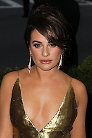 """NEW YORK CITY, NY, USA - MAY 05: Lea Michele at the """"Charles James: Beyond Fashion"""" Costume Institute Gala held at the Metropolitan Museum of Art on May 5, 2014 in New York City, New York, United States. (Photo by Xavier Collin/Celebrity Monitor)"""