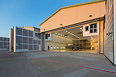 F-22 Hangar, Hickam AFB, Honolulu, Oahu, Hawaii