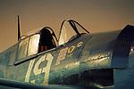 Close up of the Grumman F6F Hellcat