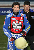 Dean Barker - Reading Bulldogs vs Lakeside Hammers - Elite League Speedway at Smallmead, Reading- 23-04-07 - MANDATORY CREDIT: Gavin Ellis/TGSPHOTO - IMAGES USED WILL BE INVOICED AT STANDARD RATES..
