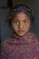Girl in Dang, Nepal, 2006