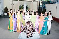 Lindsey Graham - Phuoc Dien Vietnamese Temple with John McCain - Manchester, NH - 21 Nov 2015