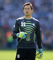 FUSSBALL WM 2014  VORRUNDE    GRUPPE F     Argentinien - Iran                         21.06.2014 Torwart Daniel Davari (Iran)