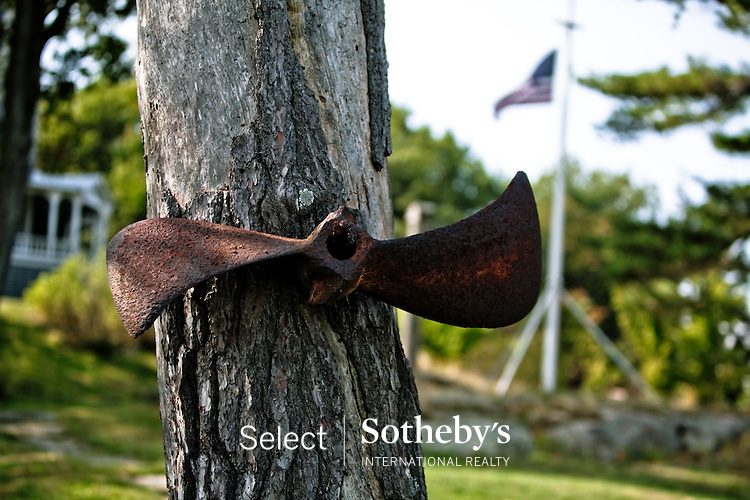 Sept 27, 2011: Select Sothebys International Realty brings world renowned artist and designer Richard MacKenzie-Childs to visit historic Comfort.Island in Alexandria Bay, NY to discuss historical restoration opportunities for important Thousand.Islands Landmark Comfort Island owned by the Clark family since 1883. See www.Comfort-Island.com for details.  Call Mike Franklin for Inquiries 315-876-2262.