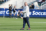 16 November 2008: Virginia assistant coach Mike McGinty. The University of Maryland defeated the University of Virginia 1-0 at WakeMed Stadium at WakeMed Soccer Park in Cary, NC in the men's ACC tournament final.