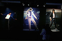 May 12, 2010 - Tokyo, Japan - A pictures panel is on display at the 'Michael Jackson - The official Lifetime Collection' exhibition, in a hall at the foot of Tokyo Tower, Tokyo, Japan, on May 12, 2010. More than 280 items of Michael Jackson memorabilia including crystal-studded gloves and favorite 1967 Rolls Royce are on display until July 4.  (c) MICHAEL JACKSON ESTATE.