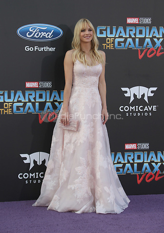 "HOLLYWOOD, CA - April 19: Anna Faris, At Premiere Of Disney And Marvel's ""Guardians Of The Galaxy Vol. 2"" At The Dolby Theatre  In California on April 19, 2017. Credit: FS/MediaPunch"