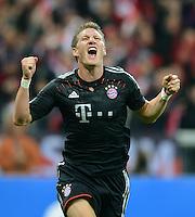 Fussball Uefa Champions League 2012/13: FC Bayern Muenchen - CF Valencia