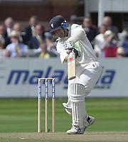 Photo Peter Spurrier.31/08/2002.Cheltenham & Gloucester Trophy Final - Lords.Somerset C.C vs YorkshireC.C..Somerset's Peter Bowler (blue helmet)