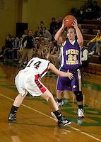 Girls Basketball Sectional vs. Sheridan 2-11-09