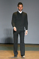 Fashion designer Marc Jacobs walks on runway, after his Marc by Marc Jacobs Fall/Winter 2011 collection, during New York Fashion Week, Fall 2011.