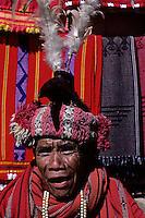 Traditional Ifugao near Banaue, Philippines,circa 1990