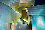 Walt Disney Music Center, Los Angeles, CA, designed by Architect Frank Gehry.
