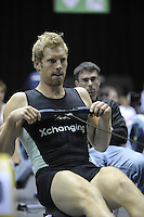 Birmingham, Great Britain, Men's Student Hwt, Silver  medallist, Pete MARSLAND, CUBC,  competing at the 2008 British Indoor Rowing Championships, National Indoor Arena. on  Sunday 26.10.2008 . [Photo, Peter Spurrier/Intersport-images] ..