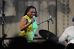 Sharon Jones and the Dap Kings play the Double Decker Arts Festival  in Oxford, Miss. on Saturday, April 24, 2010.