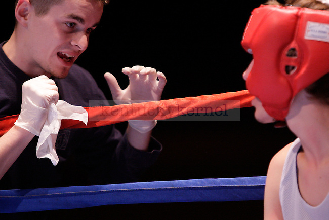 """Greeks participated in Alpha Delta Pi and Sigma Chi's philanthropy event, """"The Main Event"""" at the Lexington Convention Center in Lexington, Ky., on Friday, November 2, 2012. Photo by Adam Pennavaria   Staff"""