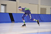 SPEED SKATING: SALT LAKE CITY: 18-11-2015, Utah Olympic Oval, ISU World Cup, training, Arjan Stroetinga (NED), ©foto Martin de Jong