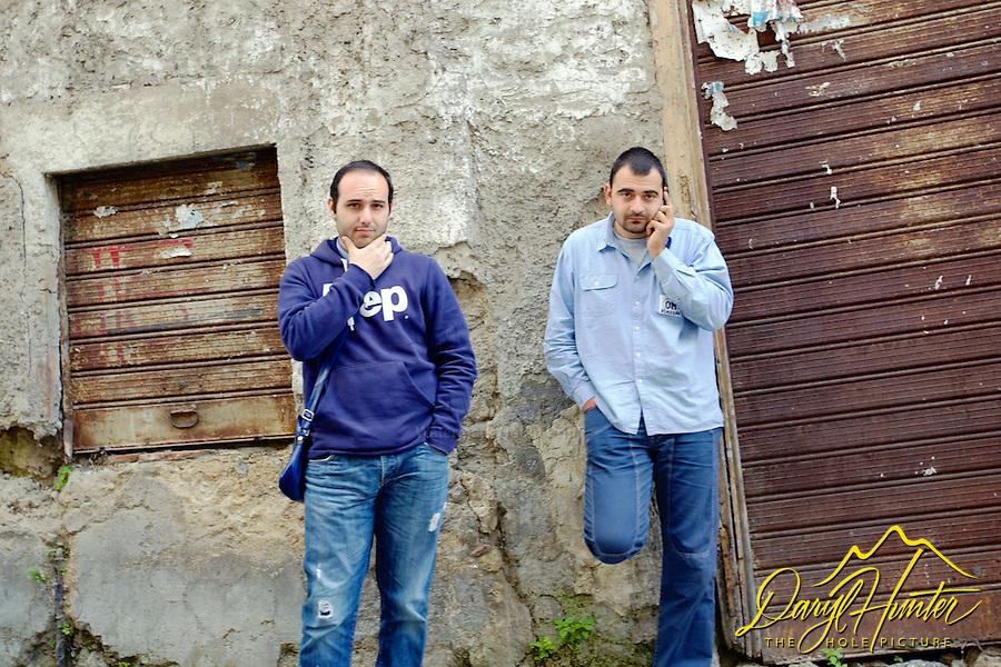 Angry Italian Men, Naples Italy