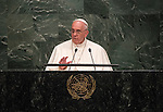 General Assembly 70th session 3rd plenary meeting<br /> Address by His Holiness Pope Francis