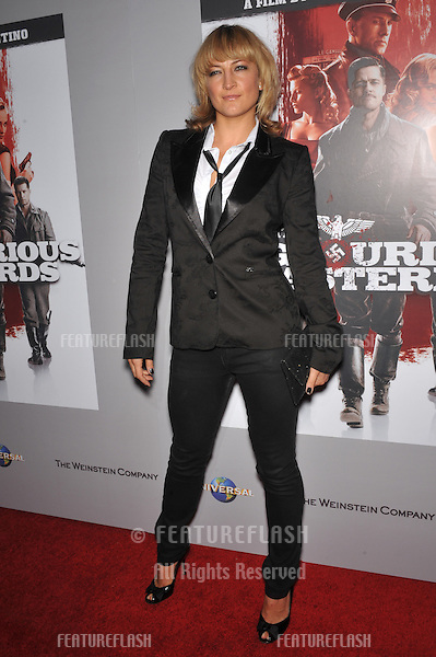 "Zoe Bell at the DVD launch of ""Inglourious Basterds"" at the New Beverly Cinema, Los Angeles..December 14, 2009  Los Angeles, CA.Picture: Paul Smith / Featureflash"