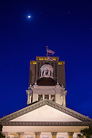 TALLAHASSEE, FLA. 4/11/16-The Historic Florida Capitol at dusk. <br /> <br /> <br /> COLIN HACKLEY PHOTO