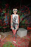 Model At alice+olivia by Stacey Bendet & David Choe Present a Night of Fashion and Art at 450 West 14th Street, NY