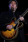 Eric Krasno of Soulive Performs at the City Parks Foundation proudly presents SUMMERSTAGE  Gala SummerStage Presented by AT&amp;T  &ldquo;The Music of Jimi Hendrix&rdquo; <br /> An Evening Celebrating the Musical Genius of the Legendary Guitarist, June 5, 2012 Produced by Michael Dorf Presents and City Winery