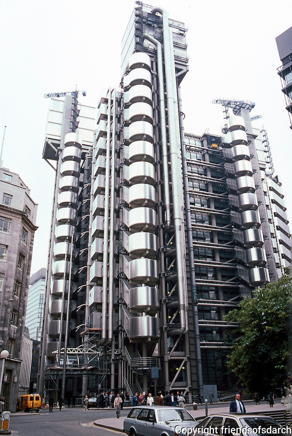 Old Lloyds Of London Building