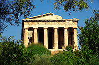 Temple of Hephaestus, Agora of Athens, Greece