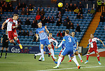 Martyn Waghorn with a header from Barrie McKay's corner
