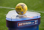 St Johnstone v Falkirk&hellip;23.07.16  McDiarmid Park, Perth. Betfred Cup<br />The match ball<br />Picture by Graeme Hart.<br />Copyright Perthshire Picture Agency<br />Tel: 01738 623350  Mobile: 07990 594431