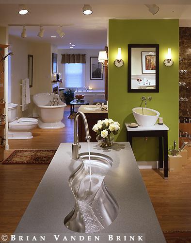 Bathroom Fixtures Showroom.Rockland, Me.