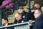St Johnstone v Hearts..15.12.12      SPL.Steve Lomas watches from the stands.Picture by Graeme Hart..Copyright Perthshire Picture Agency.Tel: 01738 623350  Mobile: 07990 594431