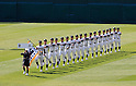Tohoku team group, MARCH 23, 2011 - Baseball : Opening ceremony of the 83rd National High School Baseball Invitational Tournament at Koshien Stadium in Hyogo, Japan. (Photo by BFP/AFLO).