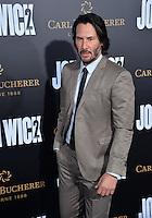 Keanu Reeves at the premiere of &quot;John Wick Chapter Two&quot; at the Arclight Theatre, Hollywood. <br /> Los Angeles, USA 30th January  2017<br /> Picture: Paul Smith/Featureflash/SilverHub 0208 004 5359 sales@silverhubmedia.com