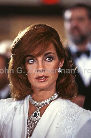 """Linda Gray as Sue Ellen Ewing,  """"Dallas,"""" 1980. Photo by John G. Zimmerman."""
