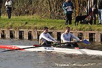 315 BAU Bath Uni. Wycliffe Small Boats Head 2011. Saturday 3 December 2011. c. 2500m on the Gloucester Berkeley Canal
