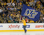 - The Merrimack College Warriors defeated the University of New Hampshire Wildcats 4-1 (EN) in their Hockey East Semi-Final on Friday, March 18, 2011, at TD Garden in Boston, Massachusetts.