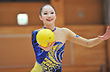 "Rina Miura, MARCH 23, 2012 - Rhythmic Gymnastics : Japanese Rhythmic Gymnastics Team ""FAIRY JAPAN POLA"" open the practice for press at Japan Sports Institute of Science in Itabashi, Japan. (Photo by Atsushi Tomura /AFLO SPORT) [1035]"