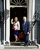 Cabinet Meeting arrivals in Downing Street London Great Britain<br /> 12th May 2015 <br /> <br /> Arrivals of the new government ministers at the first cabinet of the new Conservative government. <br /> <br /> Justine Greening and David Mundell <br /> <br /> Photograph by Elliott Franks <br /> Image licensed to Elliott Franks Photography Services