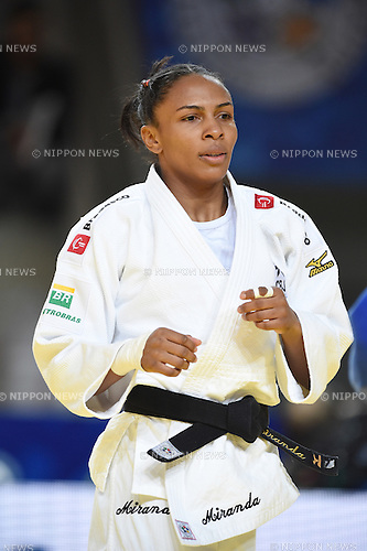 Erika Miranda (BRA), AUGUST 25, 2015 - Judo : World Judo Championships Astana 2015 Women's -52kg quarterfinal at Alau Ice Palace in Astana, Kazakhstan. (Photo by AFLO SPORT)