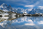 Chamonix Needles, Lac Blanc, French Alps,  France