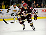 9 January 2009: Boston College forward Cam Atkinson, a Freshman from Greenwich, CT, in action during the first game of their weekend series against the University of Vermont Catamounts at Gutterson Fieldhouse in Burlington, Vermont. The Catamounts scored with one second remaining in regulation time to earn a 3-3 tie with the visiting Eagles. Mandatory Photo Credit: Ed Wolfstein Photo